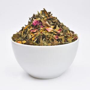 Grüner und Weißer Tee – aromatisiert