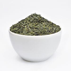 Blatt-Tee offen